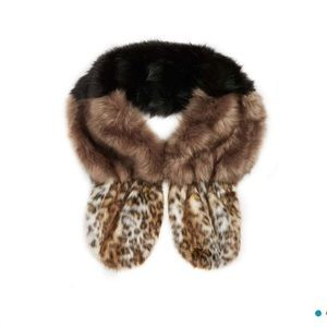 NEW Leith Faux Fur Stole Scarf